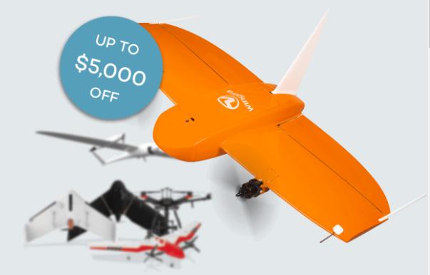 Campanha de troca WingtraOne